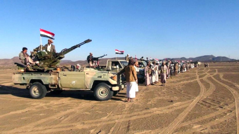 الجيش الوطني اليمني يتقدم على 3 محاور