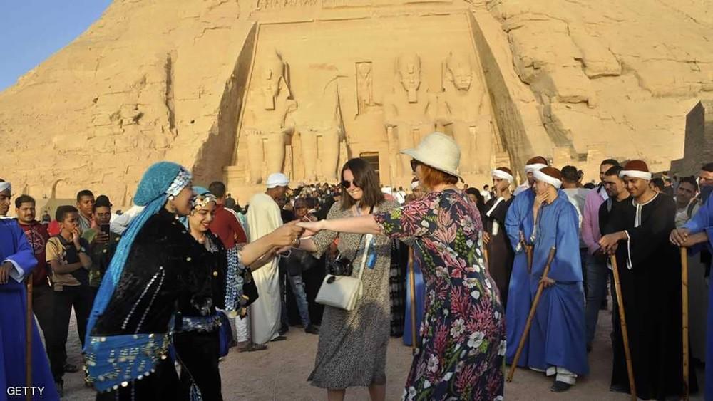 قفزة كبيرة للسياحة المصرية خلال عام