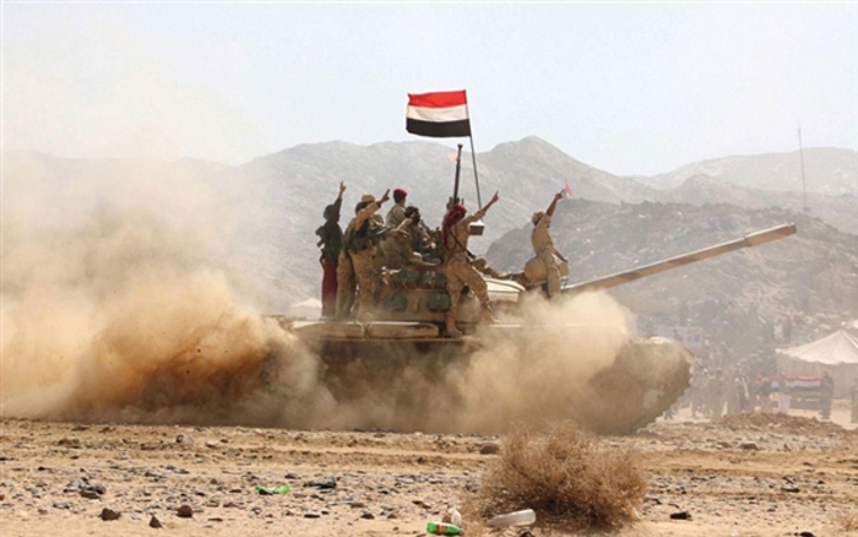 الجيش اليمني يفرض سيطرته على مواقع جديدة بدمت