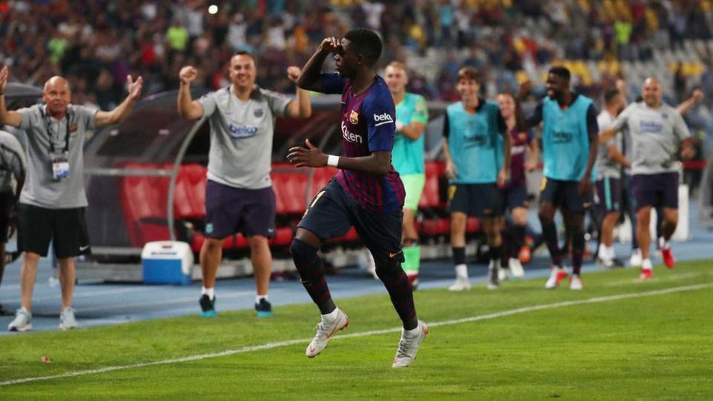 برشلونة يمنح ديمبلي فرصة أخيرة قبل التخلص منه نهائياً