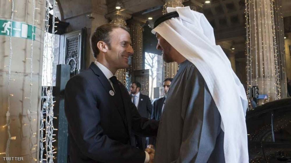 محمد بن زايد : الإمارات وفرنسا شريكتان ضد الإرهاب