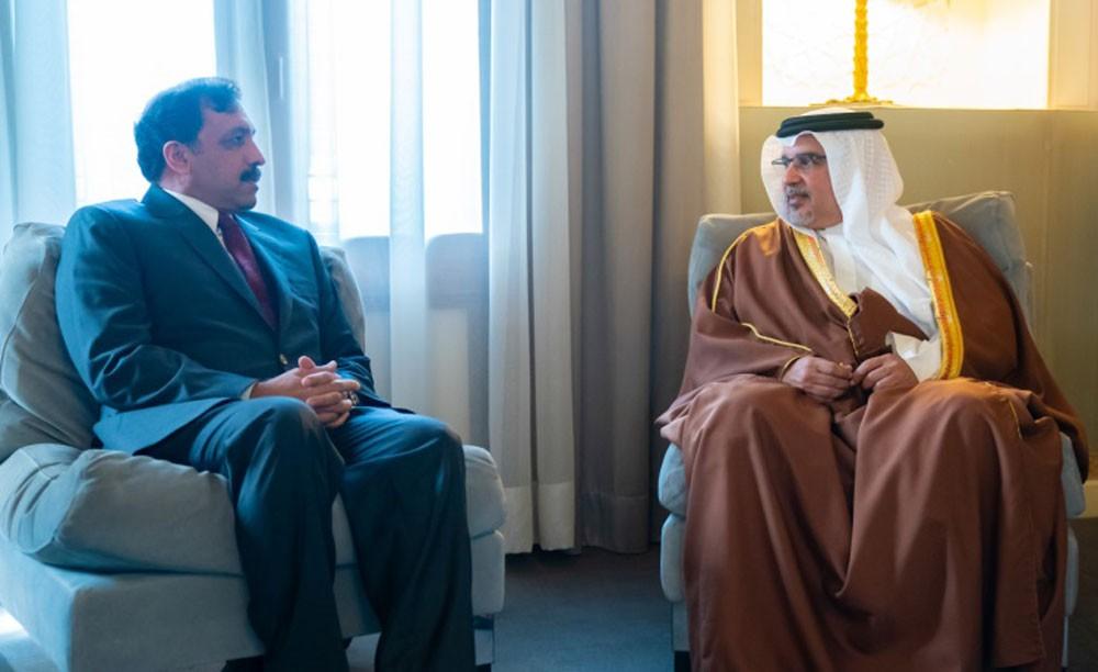 سمو ولي العهد: توسيع أطر التعاون بين البحرين وباكستان في مختلف المجالات