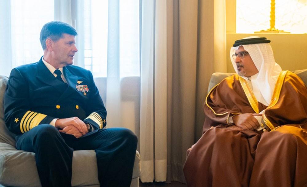 سمو ولي العهد يشيد بالعلاقات الاستراتيجية البحرينية الأمريكية