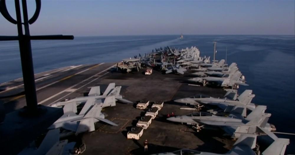 حاملة طائرات أميركية في الخليج لمراقبة إيران
