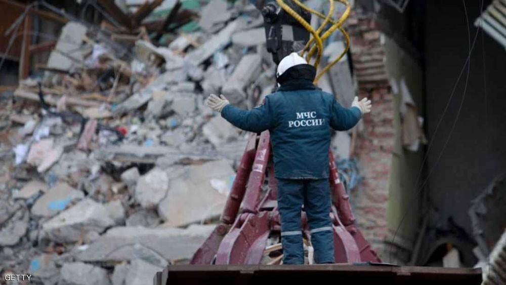 ارتفاع حصيلة قتلى المبنى المنهار في روسيا