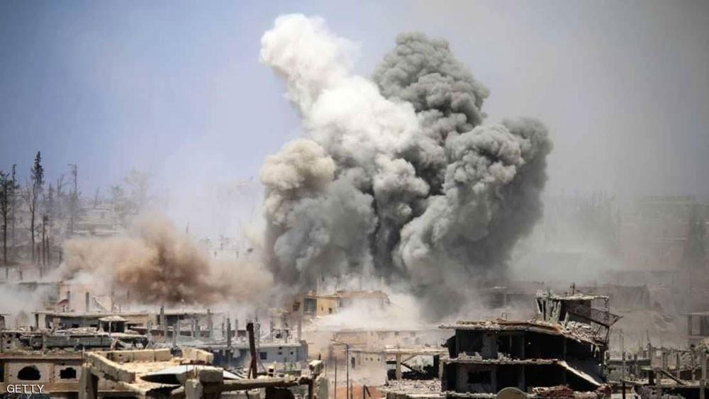 """ترامب يتحدث عن """"الرمل والموت"""" في سوريا"""