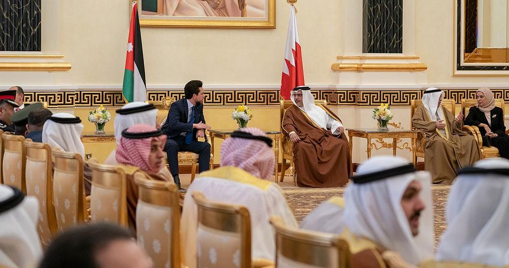 سمو ولي العهد: العلاقات الثنائية بين البحرين والأردن تشهد تطور