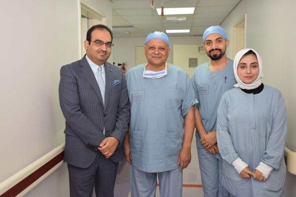السلمانية يستقبل الدكتور مصطفى كامل استشاري طب عيون الأطفال
