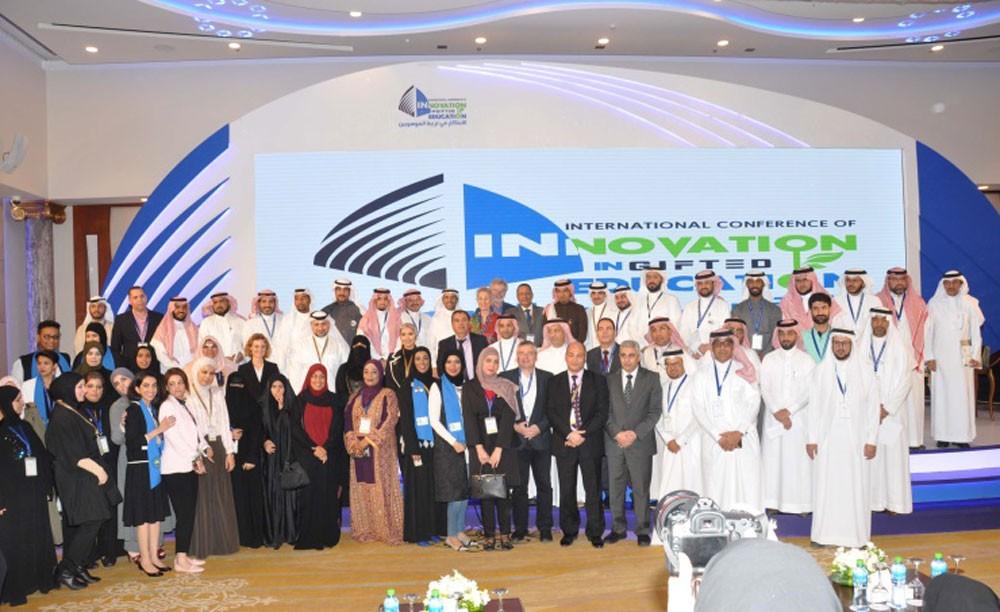اختتام مؤتمر الابتكار في تربية الموهوبين بجامعة الخليج العربي