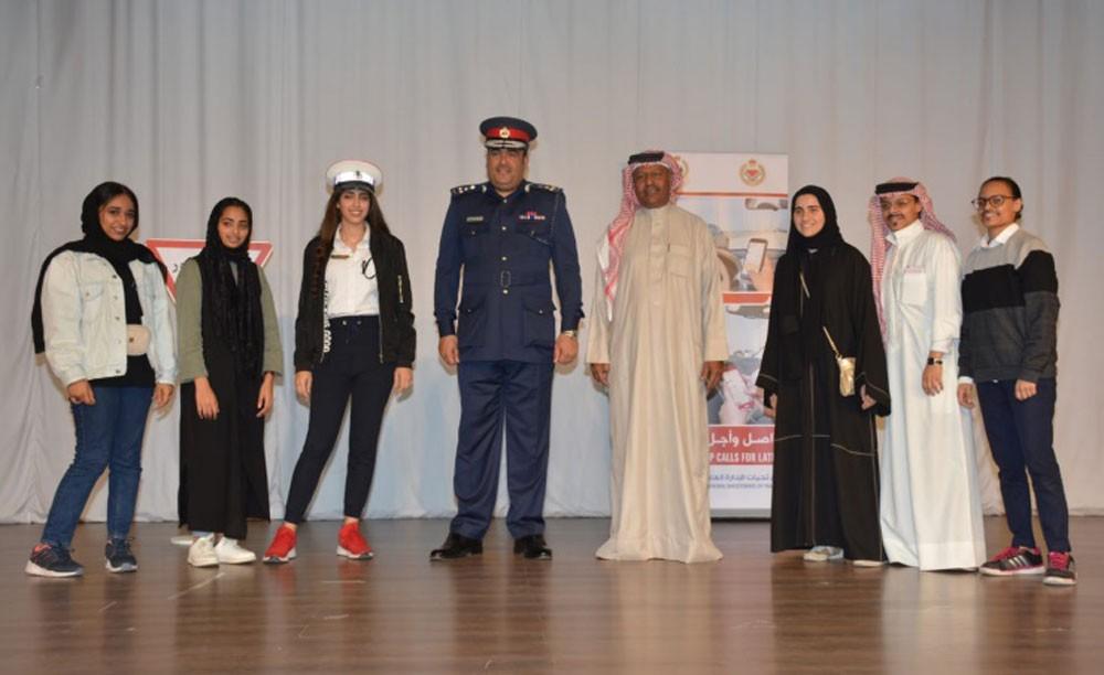 مدير عام المرور يكرم طلبة المرحلة الثانوية الفائزين بجائزة الثقافة المرورية