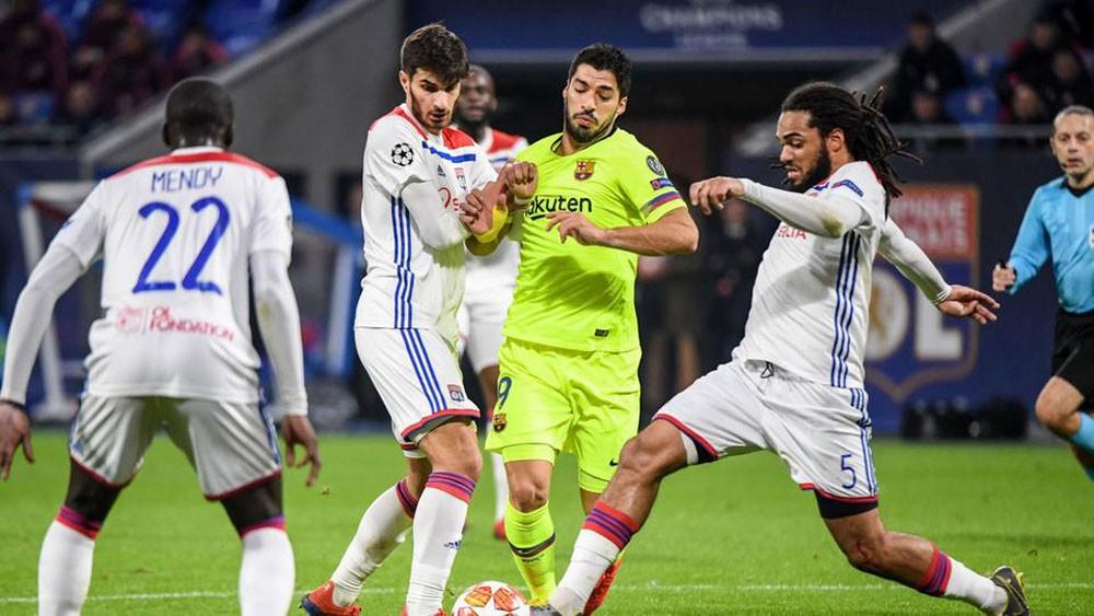 """برشلونة يخشى """"مفاجأة"""" ليون في دوري الأبطال"""