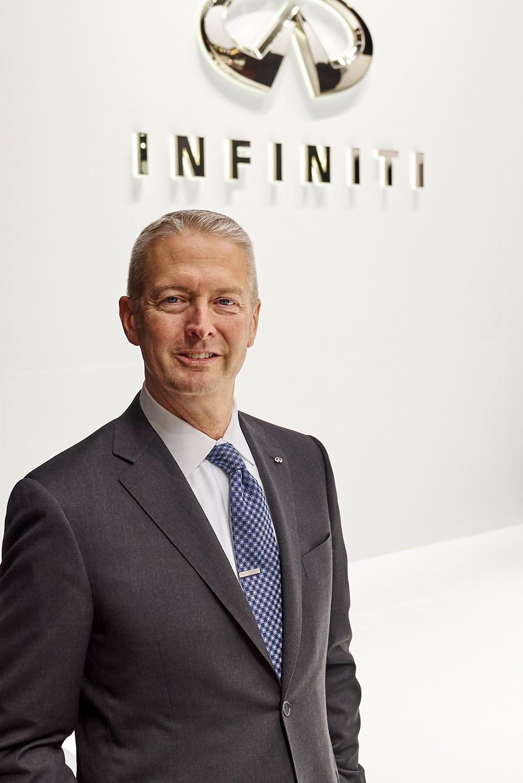 إنفينيتي للسيارات تعيّن مايك كوليران بمنصب نائب الرئيس العالمي لشؤون عمليات التسويق والمبيعات