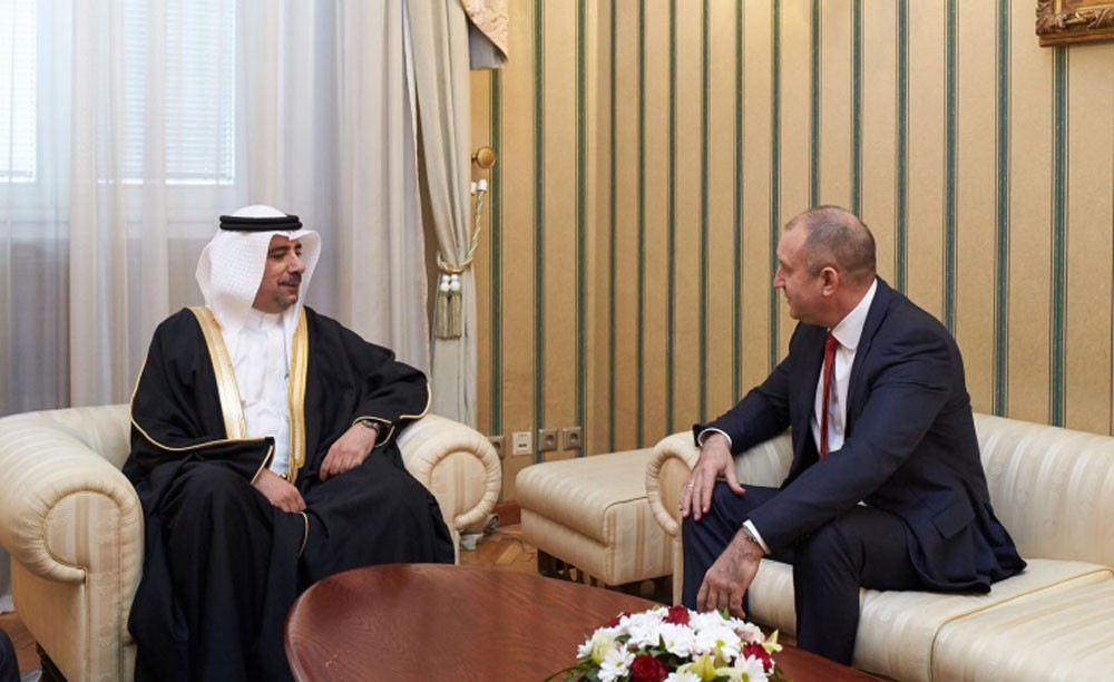 رئيس بلغاريا يتسلم اوراق اعتماد السفير عبدالله عبداللطيف