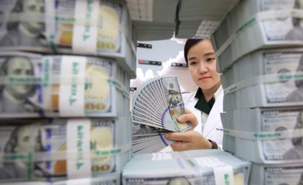ارتفاع احتياطي النقد الأجنبي في كوريا الجنوبية إلى 405.3 مليار دولار