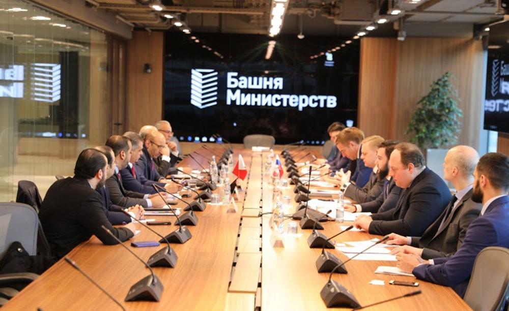 فريق العمل البحريني - الروسي يعقد اجتماعه السادس