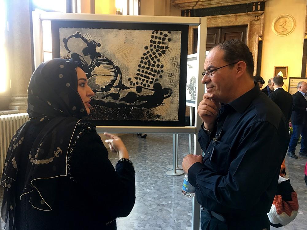 معرض تشكيلي بحريني يصاحب مهرجان ثقافي في ايطاليا
