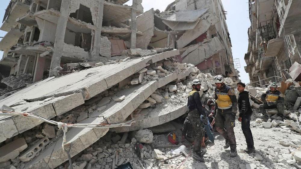 مقتل 10 مدنيين في غارات روسية على إدلب