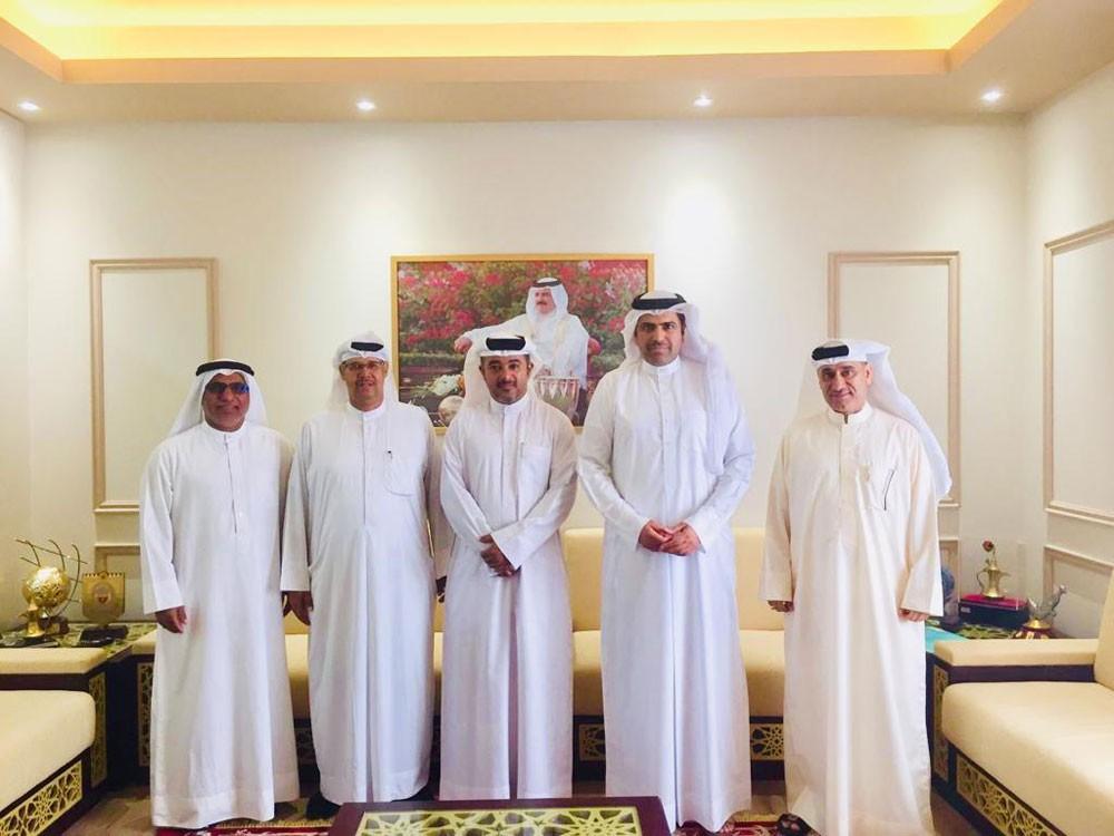 لجنة بطولة النسر الذهبي تجتمع مع الأمين العام لاتحاد الكرة