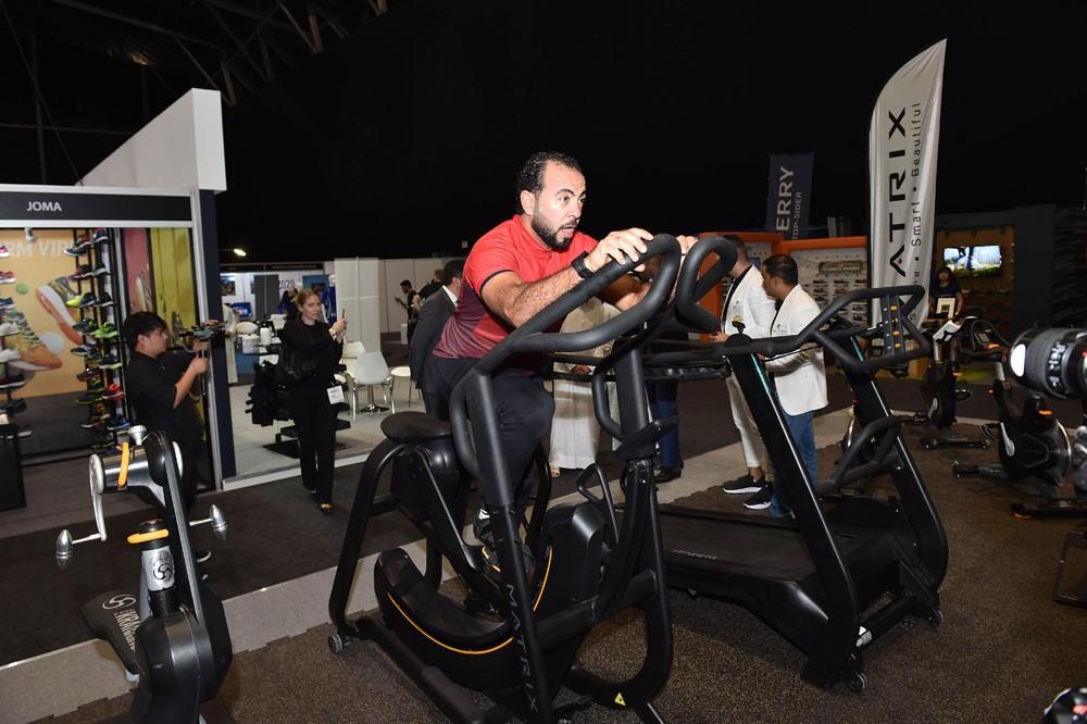 دبي تستضيف المعرض الدولي للرياضة واللياقة البدنية