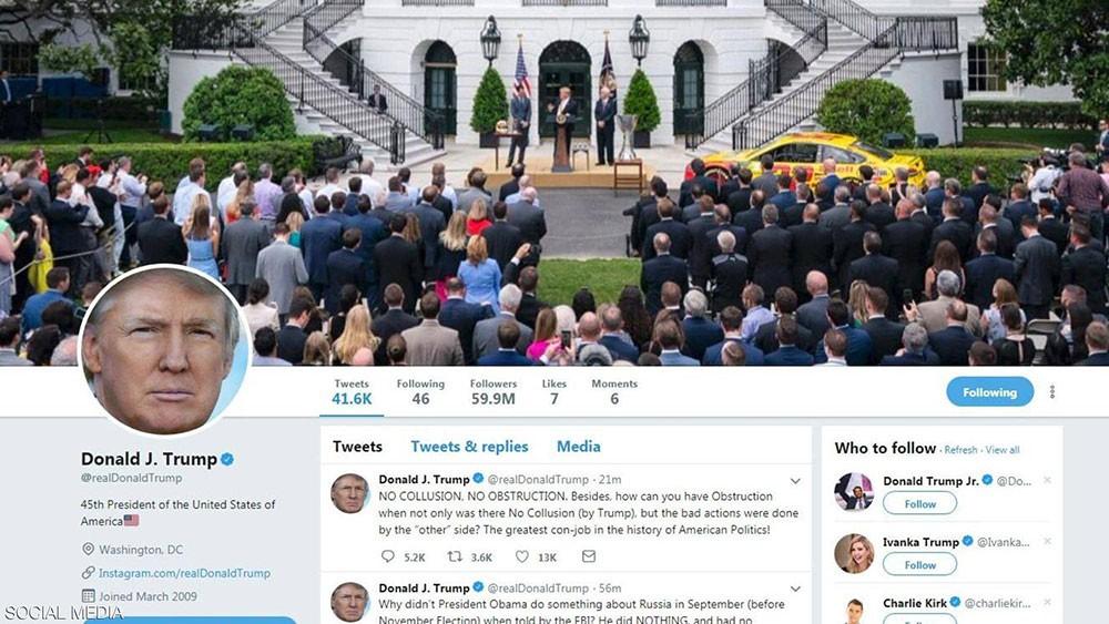 """ترامب يعيد تغريدة.. ويقع في فخ """"تويتر"""""""
