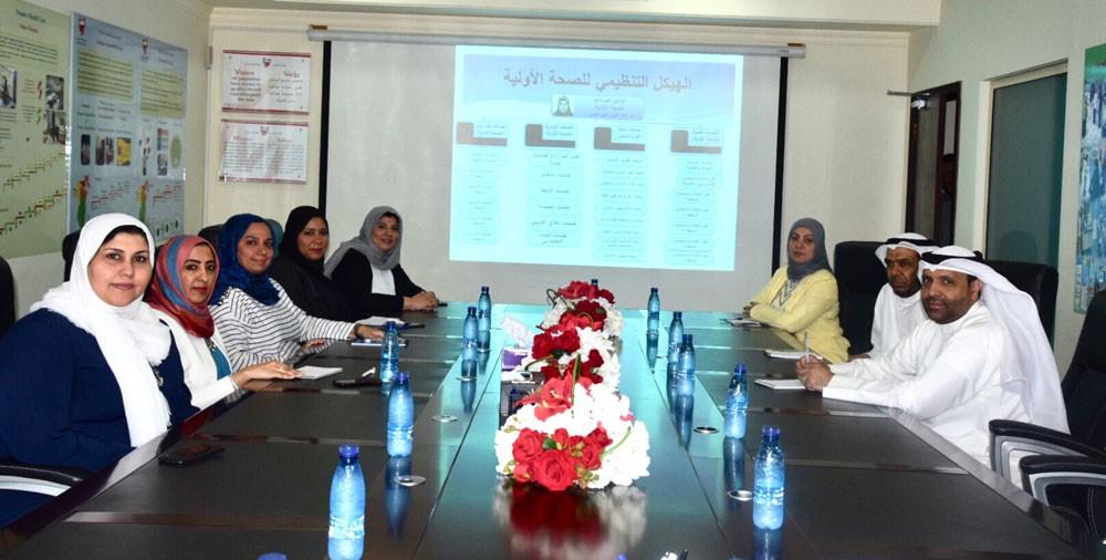 الصحة تستقبل وفداً من وزارة الصحة الكويتية