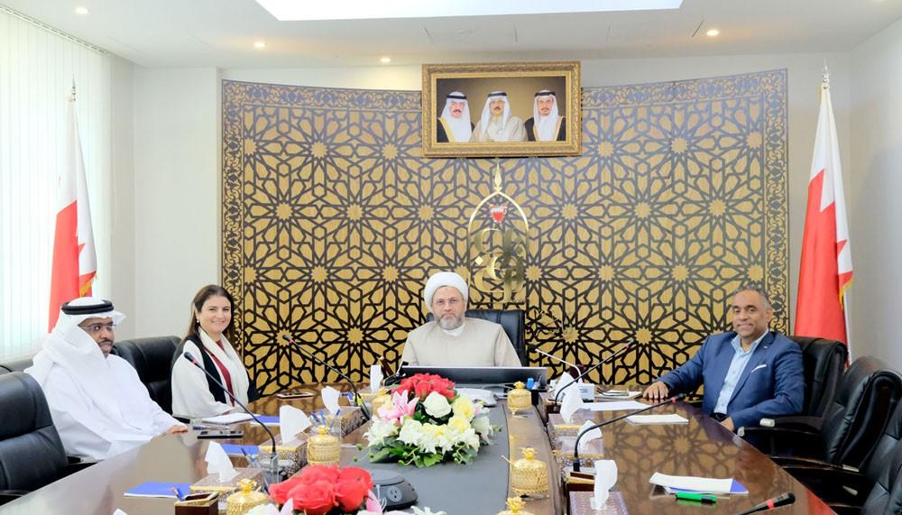 رئيس الأوقاف الجعفرية يستعرض المشاريع الوقفية في (ثانية العاصمة)