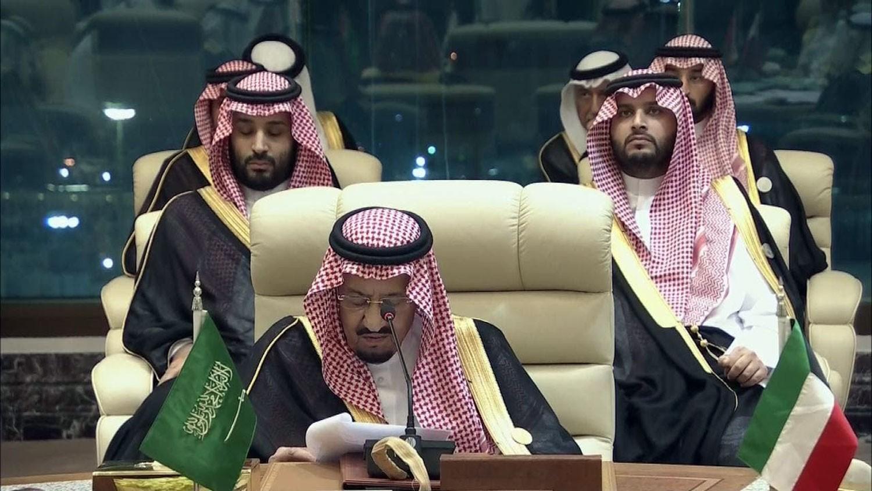 الملك سلمان: لابد من موقف دولي حازم وحاسم ضد إيران