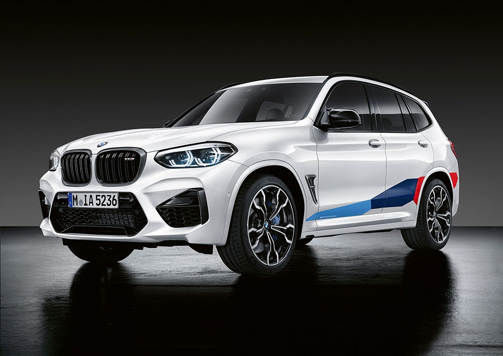 M Performance للطرازين الجديدين BMW X3 M وBMW X4 M