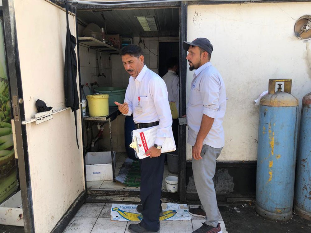 أمانة العاصمة تنفذ حملة تفتيشية على مطاعم سوق الجوهرة