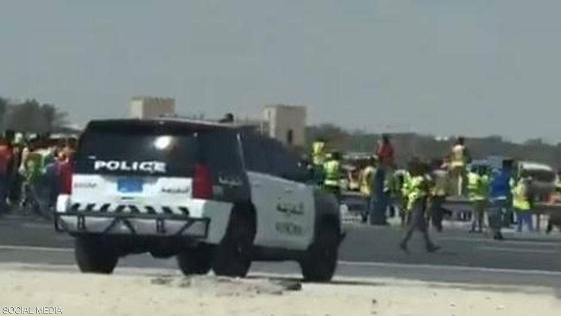 فيديو لإضراب ومظاهرات عمال في قطر يثير جدلا