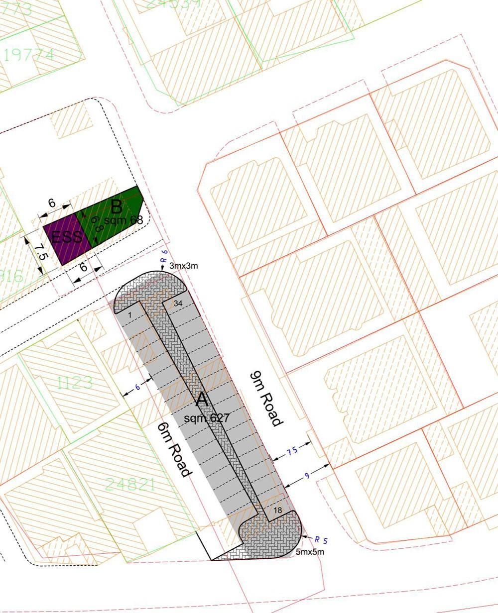 العود: تحويل أرض من استثمارية إلى مواقف عامة بمجمع 236 منطقة سماهيج