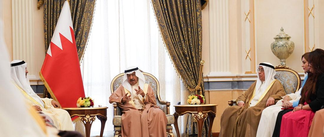 سمو رئيس الوزراء: التعاون بين السلطتين التنفيذية والتشريعية يعكس الإرادة لتحقيق ما يتطلع إليه شعب البحرين