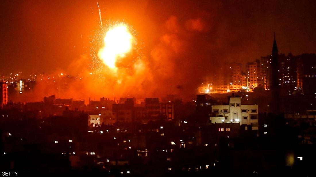 قتلى من قوات أمن حماس في انفجار في غزة
