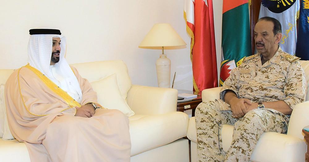 القائد العام يستقبل وزير المالية والاقتصاد الوطني