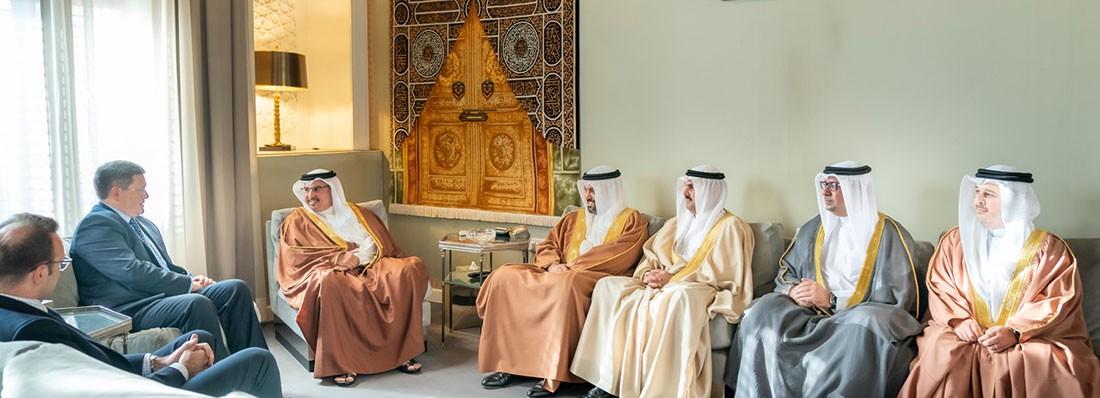 نائب جلالة الملك يؤكد على تقدم وتطور العلاقات البحرينية البريطانية على كافة المستويات
