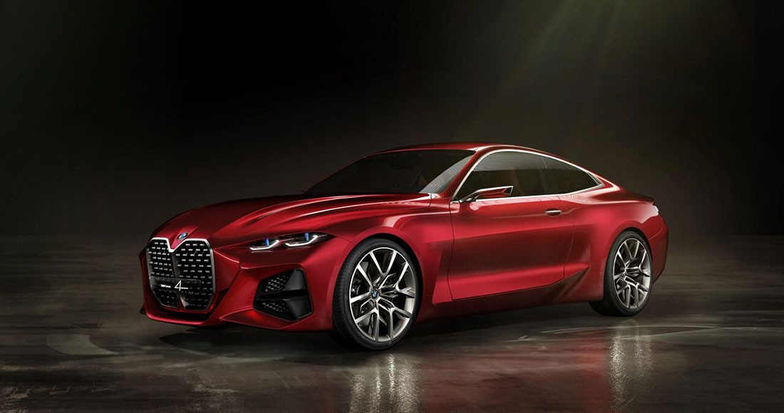 BMW Concept 4 الخيالية