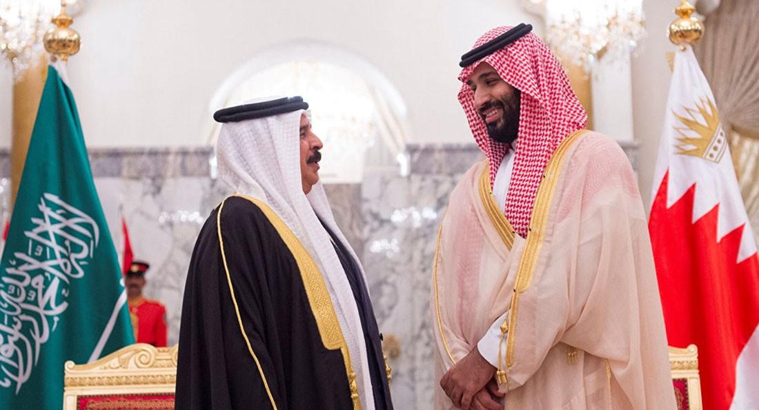 اتصال هاتفي بين جلالة الملك وولي العهد السعودي