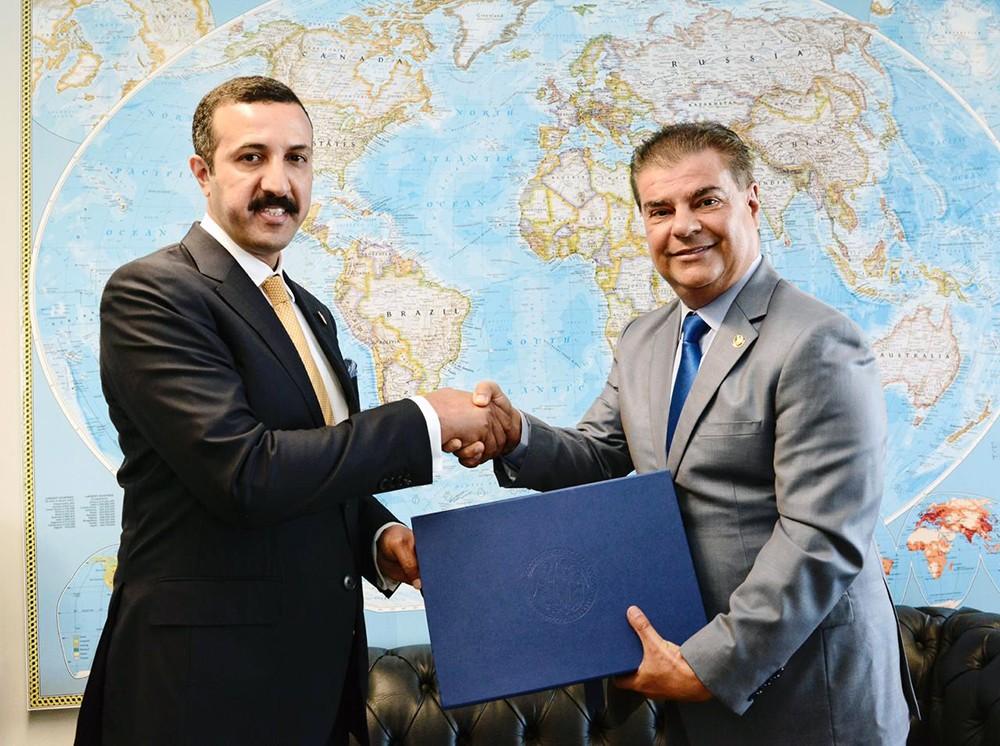 وكيل وزارة الخارجية يلتقي وزير الدفاع البرازيل ورئيس لجنة العلاقات الخارجية والدفاع بمجلس الشيوخ