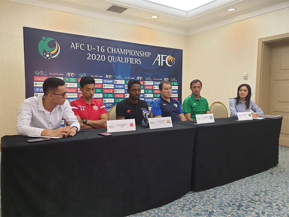 منتخب الناشئين الكروي يدشن مشوار تصفيات بطولة آسيا 2020