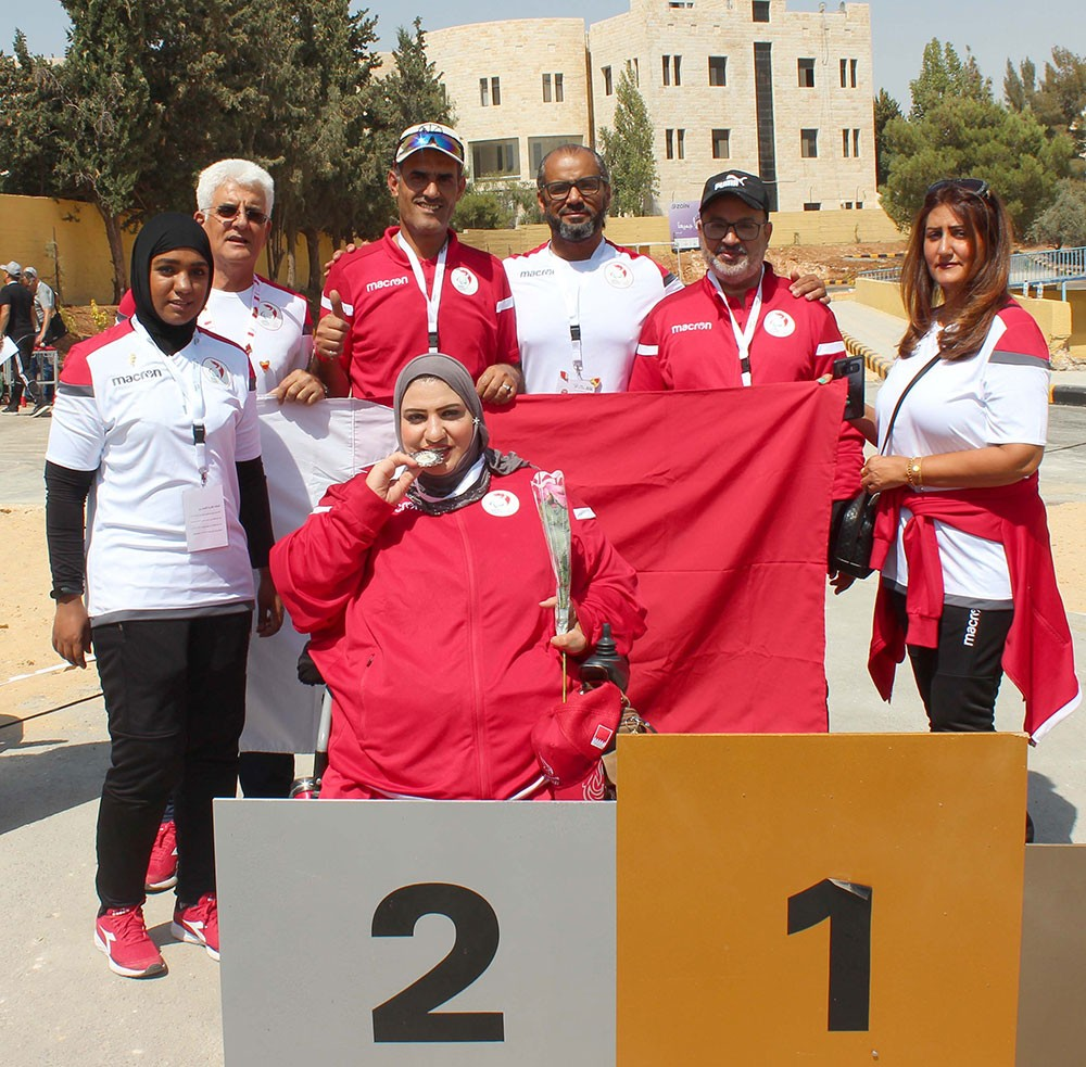 وفد البحرين لذوي العزيمة يحصد 6 ميداليات ملونة بغرب آسيا