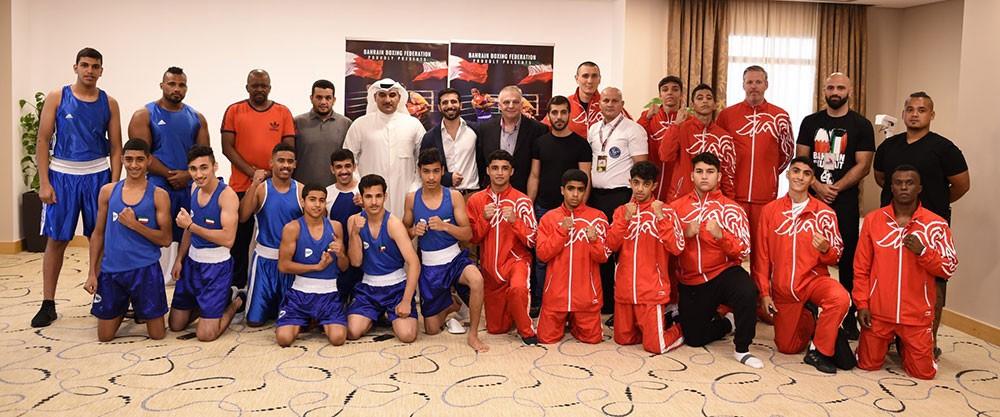 """""""شرارة المواجهة"""" تبدأ في المؤتمر الصحافي وفحص الوزن الرسمي لمنتخبي البحرين والكويت"""