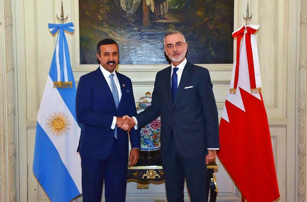 عبدالله بن أحمد يجتمع بنائب وزير خارجية الأرجنتين