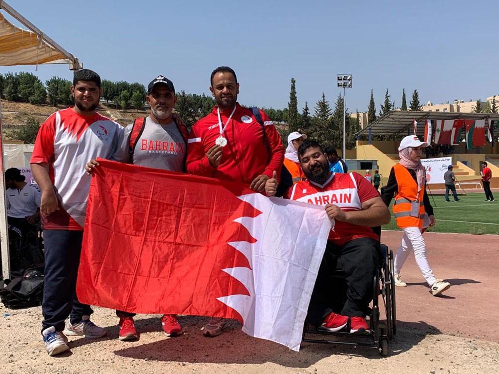 وفد ذوي العزيمة يحقـق (27) ميدالية ملونة فـي ختام منافسات غرب آسيا البارالمبية