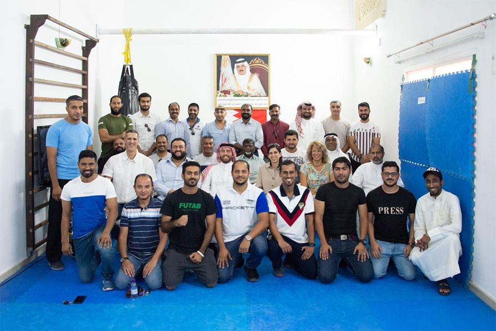 رئيس اتحاد الكراتيه يلتقي ممثلو الأندية وحكام ومدربي لعبة الكراتيه