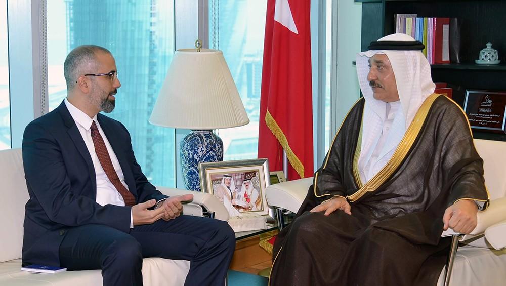 حميدان يؤكد التعاون مع كافة المنظمات الدولية المعنية بحقوق العمال