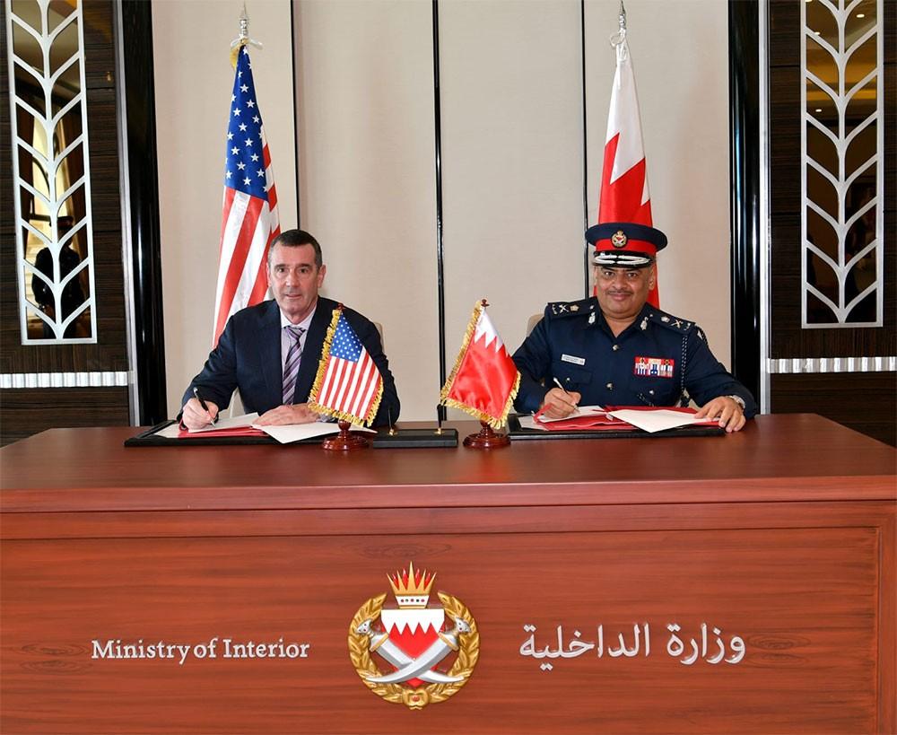 رئيس الأمن العام يبحث مكافحة الإرهاب الإلكتروني