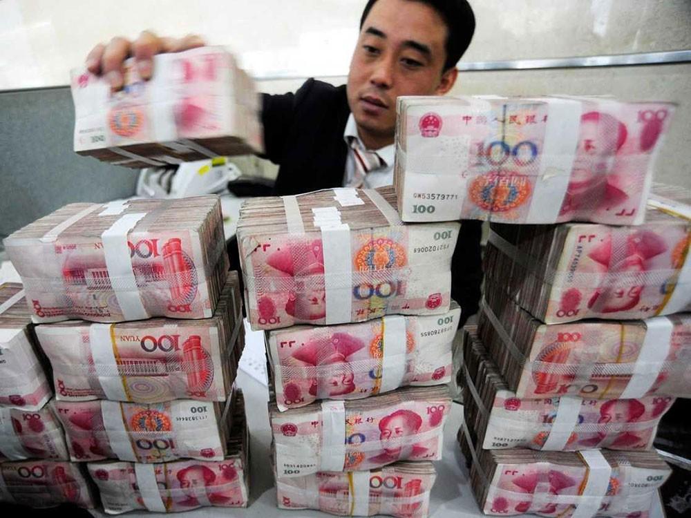 اكثر من 3 تريليون دولار احتياطي الصين من النقد الأجنبي