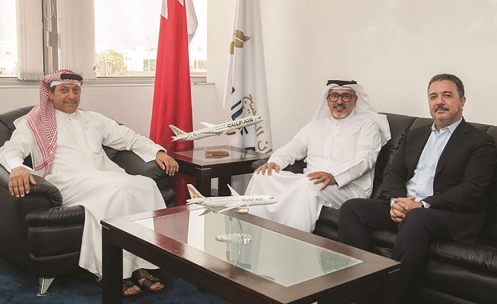 طيران الخليج وبتلكو تبحثان التعاون المشترك