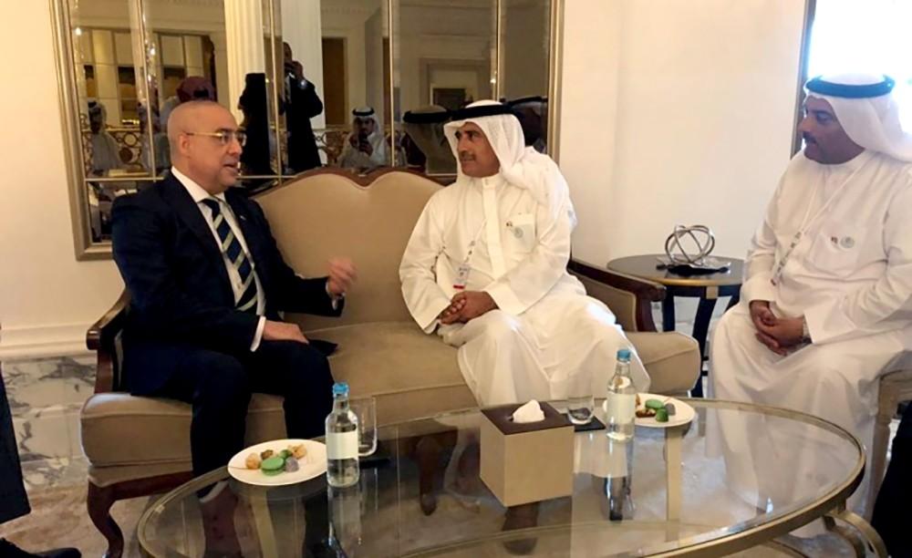 وزير الاسكان يبحث مع نظيره المصري سبل التعاون وتبادل الخبرات بين البلدين