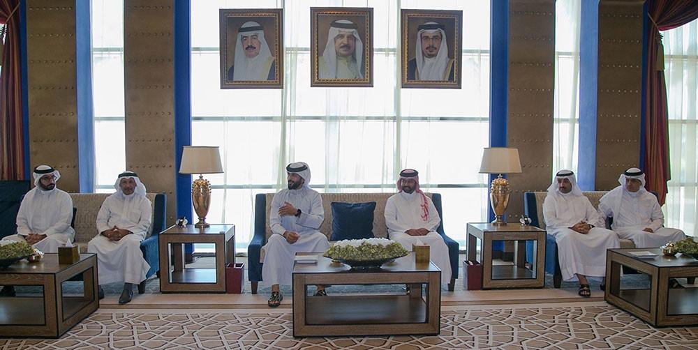 ناصر بن حمد: يوجه لإنشاء صندوق دعم للمشاريع الرياضية والشبابية لحفظ الجهود والأهداف